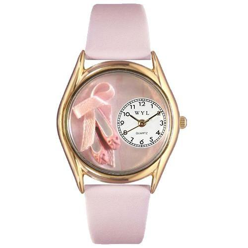Ballet Shoes Watch Small Gold Style-Watch-Whimsical Gifts-Top Notch Gift Shop