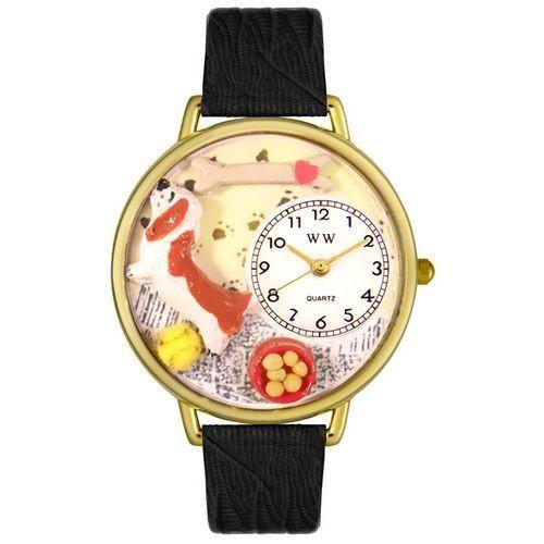 Basset Hound Watch in Gold (Large)-Watch-Whimsical Gifts-Top Notch Gift Shop