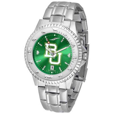 Baylor Bears Competitor AnoChrome - Steel Band Watch-Watch-Suntime-Top Notch Gift Shop
