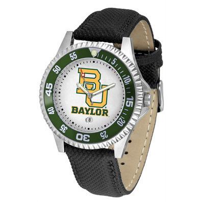Baylor Bears Competitor - Poly/Leather Band Watch-Watch-Suntime-Top Notch Gift Shop