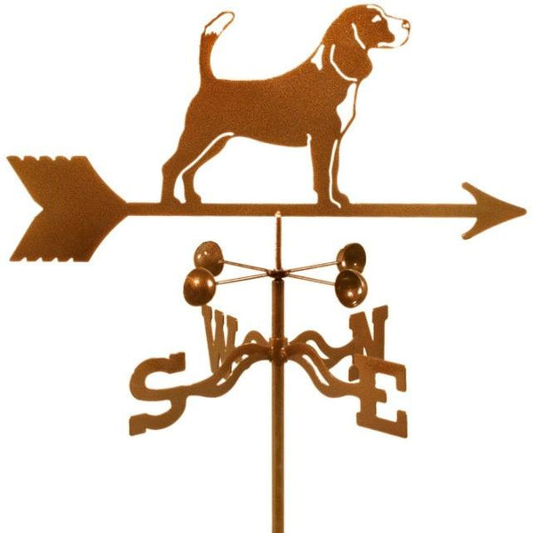 Beagle Weathervane-Weathervane-EZ Vane-Top Notch Gift Shop