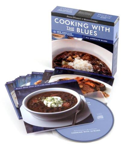 Cooking With the Blues Boxed Set - MusicCooks-Book-Menus and Music-Top Notch Gift Shop