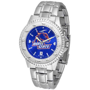 Boise State Broncos Competitor AnoChrome - Steel Band Watch-Suntime-Top Notch Gift Shop
