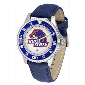 Boise State Broncos Competitor - Poly/Leather Band Watch-Watch-Suntime-Top Notch Gift Shop