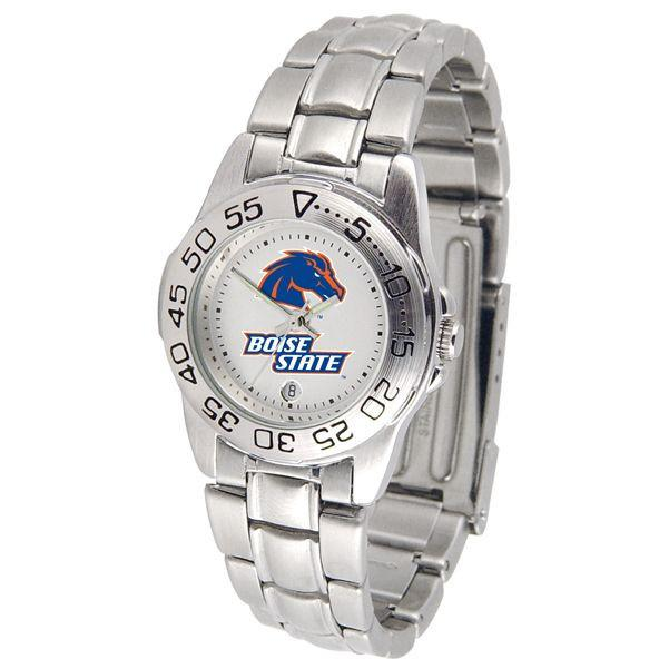 Boise State Broncos Ladies Steel Band Sports Watch-Watch-Suntime-Top Notch Gift Shop