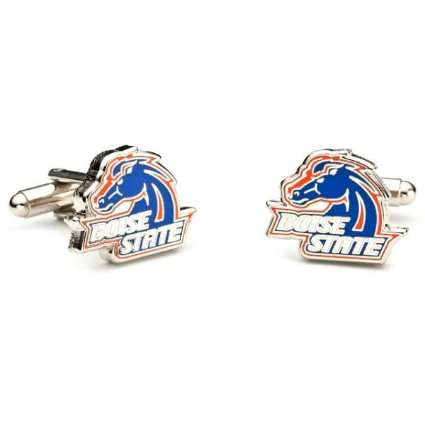 Boise State Enamel Cufflinks-Cufflinks-Cufflinks, Inc.-Top Notch Gift Shop