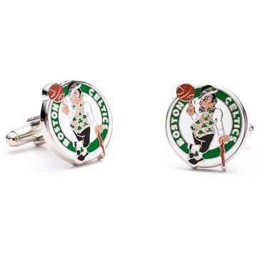 Boston Celtics Enamel Cufflinks