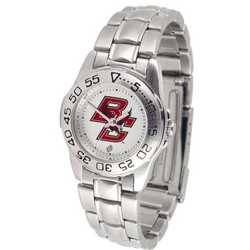 Boston College Eagles Ladies Steel Band Sports Watch