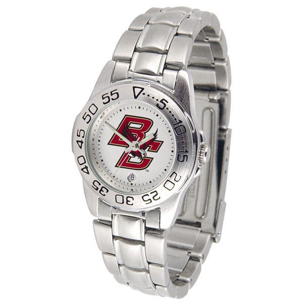 Boston College Eagles Ladies Steel Band Sports Watch-Suntime-Top Notch Gift Shop