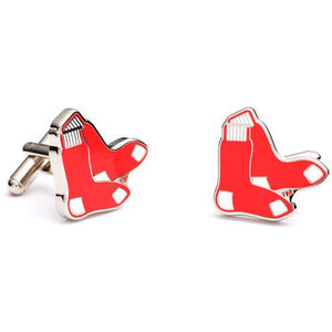 Boston Red Sox Enamel Cufflinks-Cufflinks, Inc.-Top Notch Gift Shop