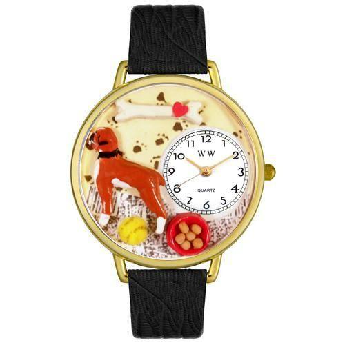 Boxer Watch in Gold (Large)-Watch-Whimsical Gifts-Top Notch Gift Shop