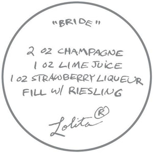 Bride Wine Glass by Lolita®-Wine Glass-Designs by Lolita® (Enesco)-Top Notch Gift Shop