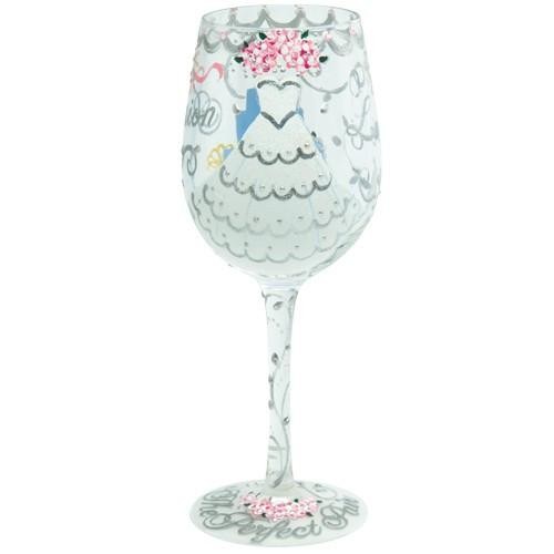 Bride Wine Glass by Lolita®-Designs by Lolita® (Enesco)-Top Notch Gift Shop