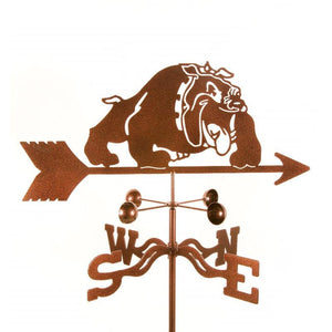 Bulldog Weathervane-Weathervane-EZ Vane-Top Notch Gift Shop