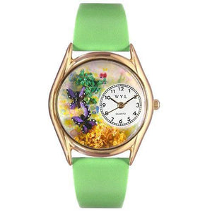 Butterflies Watch Small Gold Style-Watch-Whimsical Gifts-Top Notch Gift Shop