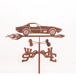 C3 Corvette Weathervane-Weathervane-EZ Vane-Top Notch Gift Shop
