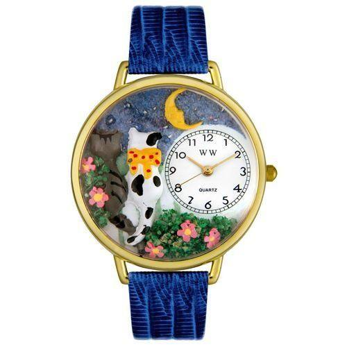 Cats Night Out Watch in Gold (Large)-Watch-Whimsical Gifts-Top Notch Gift Shop