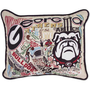 University of Georgia Pillow by Catstudio
