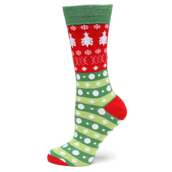 Holiday Tree Socks-Socks-Cufflinks, Inc.-Top Notch Gift Shop