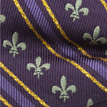 Mardi Gras Stripe Men's Bow Tie-Necktie-Cufflinks, Inc.-Top Notch Gift Shop