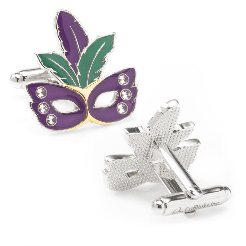 Mardi Gras Cufflinks-Cufflinks-Cufflinks, Inc.-Top Notch Gift Shop