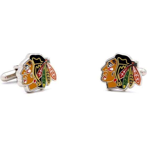 Chicago Blackhawks Cufflinks-Cufflinks-Cufflinks, Inc.-Top Notch Gift Shop