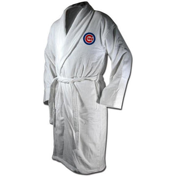 Chicago Cubs Terrycloth Logo Bathrobe