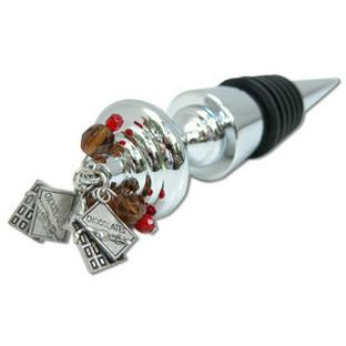 Chocolate Wine Bottle Stopper-Bottle Stopper-Classic Legacy-Top Notch Gift Shop