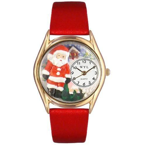 Christmas Santa Claus Watch Small GoldStyle-Watch-Whimsical Gifts-Top Notch Gift Shop