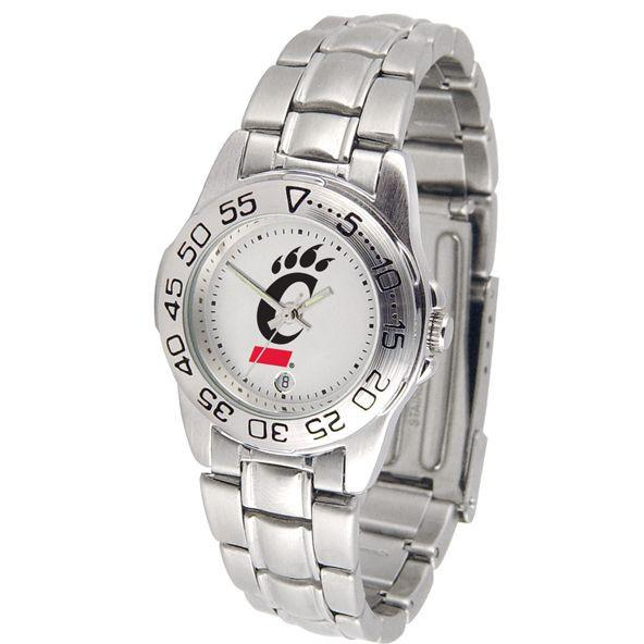 Cincinnati Bearcats Ladies Steel Band Sports Watch-Suntime-Top Notch Gift Shop