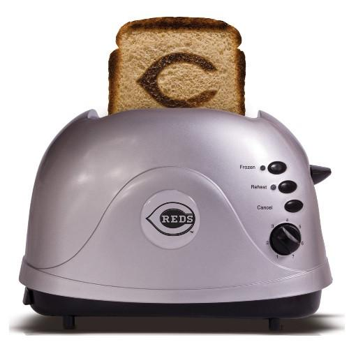 Cincinnati Reds Protoast Toaster-Toaster-Pangea Brands, LLC-Top Notch Gift Shop