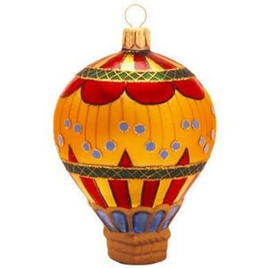 Circus II Blown Glass Christmas Ornament-Ornament-Landmark Creations-Top Notch Gift Shop