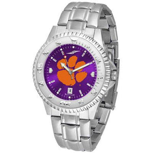 Clemson Tigers Competitor AnoChrome - Steel Band Watch-Watch-Suntime-Top Notch Gift Shop