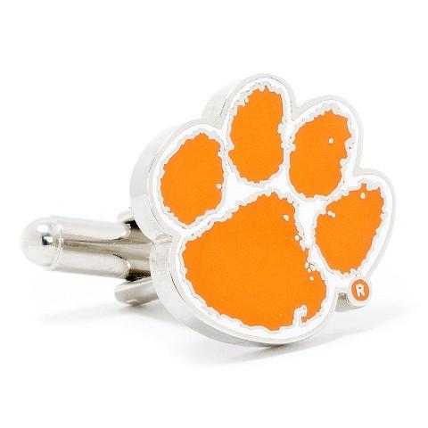 Clemson University Tigers Enamel Cufflinks-Cufflinks-Cufflinks, Inc.-Top Notch Gift Shop