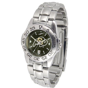 Colorado Buffaloes Ladies AnoChrome Steel Band Sports Watch-Watch-Suntime-Top Notch Gift Shop