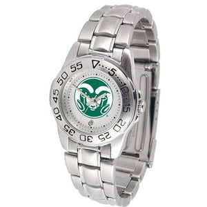 Colorado State Rams Ladies Steel Band Sports Watch-Watch-Suntime-Top Notch Gift Shop
