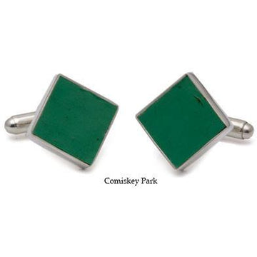 Comiskey Park Authentic Stadium Seat Cufflinks
