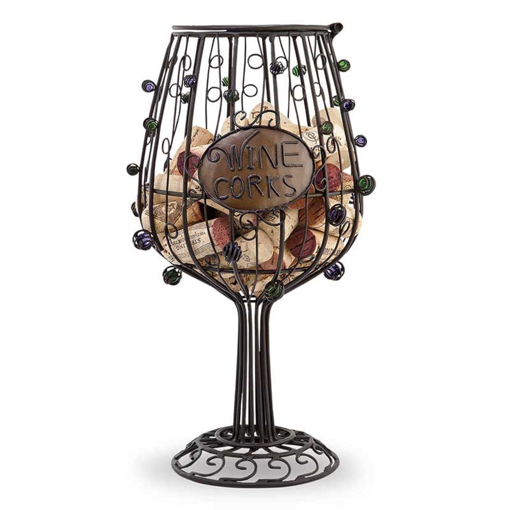 Wine Glass Cork Cage® Wine Bottle Cork Holder-Cork Cage-Epic Products Inc.-Top Notch Gift Shop
