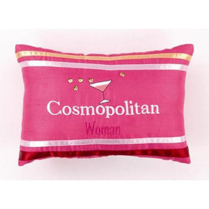 Cosmopolitan Woman Throw Pillow-Pillow-Peking Handicraft-Top Notch Gift Shop