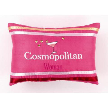 Cosmopolitan Woman Throw Pillow