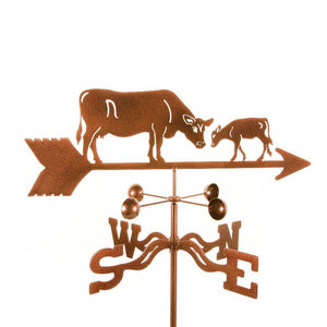 Cow with Calf Weathervane-Weathervane-EZ Vane-Top Notch Gift Shop