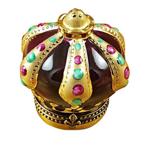 Crown With Jewels Limoges Box by Rochard™-Limoges Box-Rochard-Top Notch Gift Shop