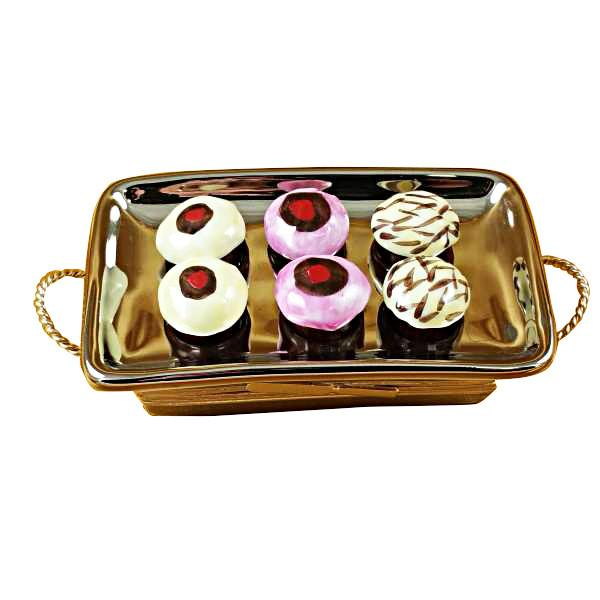 Cupcake Tray Limoges Box by Rochard-Limoges Box-Rochard-Top Notch Gift Shop