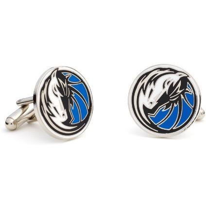 Dallas Mavericks Enamel Cufflinks-Cufflinks-Cufflinks, Inc.-Top Notch Gift Shop