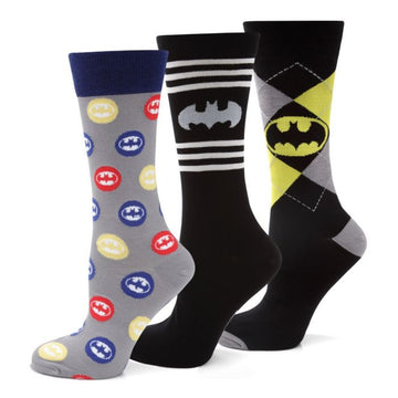 Batman 3 Pack Sock Gift Set