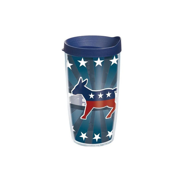 Democrat Donkey Tervis Tumbler with Lid - (Set of 2)-Tumbler-Tervis-Top Notch Gift Shop