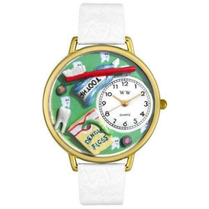 Dental Assistant Watch in Gold (Large)-Watch-Whimsical Gifts-Top Notch Gift Shop