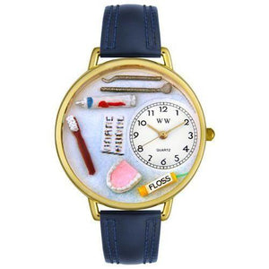 Dentist Watch in Gold (Large)-Watch-Whimsical Gifts-Top Notch Gift Shop