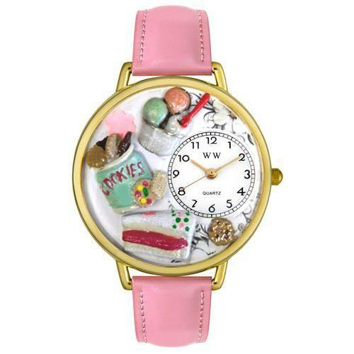 Dessert Lover in Gold (Large)-Watch-Whimsical Gifts-Top Notch Gift Shop
