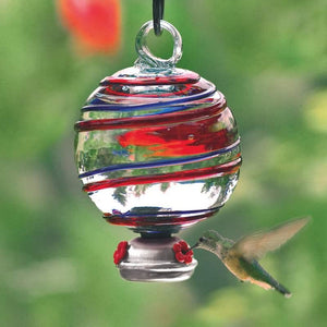 Dewdrop Barbershop Hummingbird Feeder-Bird Feeder-Parasol Gardens-Top Notch Gift Shop